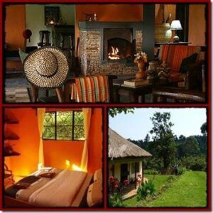 Sipi River Lodge overlooking Sipi Falls