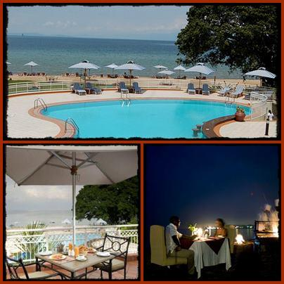 Lake Kivu Serena Hotel - on Lake Kivu Gisenyi