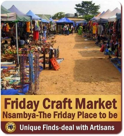 The Friday Craft Market in Kampala
