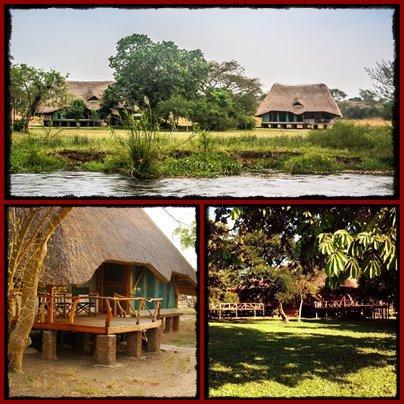 Baker's Lodge on the Nile - Murchison Falls Park