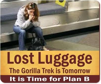 Going On Safari while your Luggage is Lost - Missing - Delayed