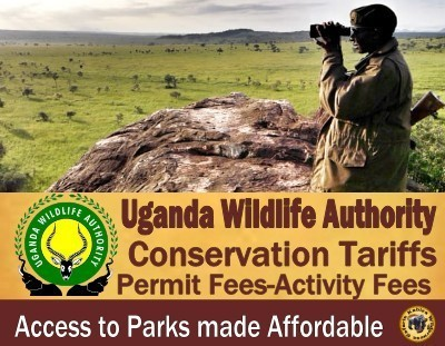 nda Wildlife Authority Tariffs-Activity Fees