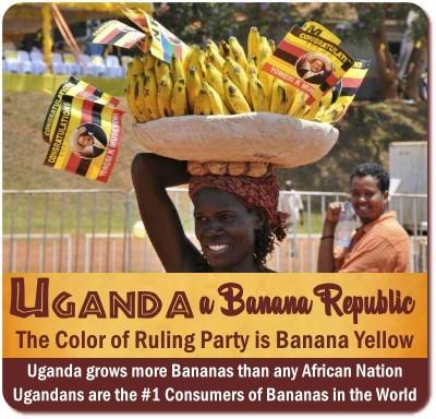 Uganda is the Banana Republic of Africa