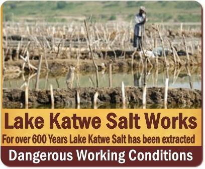 Lake Katwe Salt Works