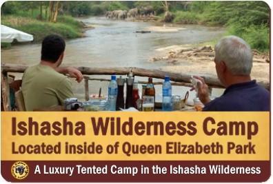 Ishasha Wilderness Camp - Ishasha - Queen Elizabeth Park