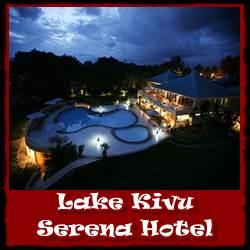 Lodging Choices along Lake Kivu in Rwanda