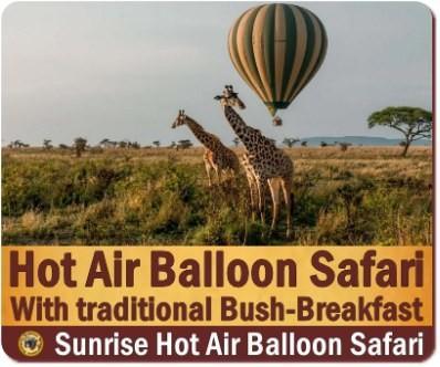 Hot Air Balloon Safari over Murchison Falls Park