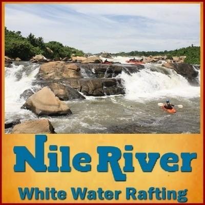 Nile White - Water Rafting from Mild to Wild - Jinja