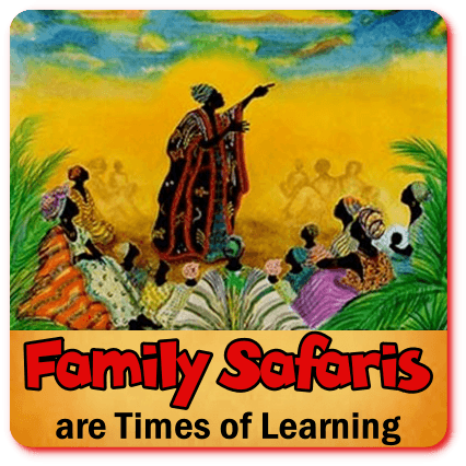 Putting the Fun into your Family Safari with Children