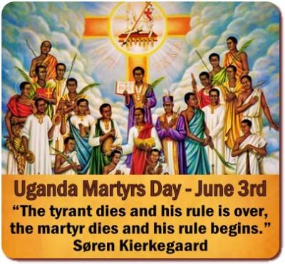 The Martyrs of Uganda who died for their Faith