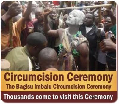 Bagisu Imbalu Public Circumcision Rites