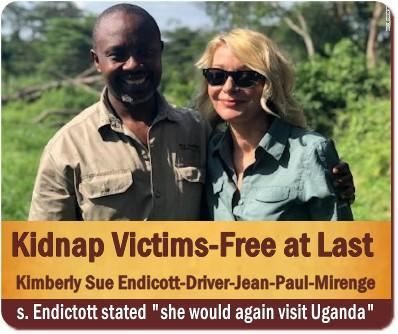 avoid being kidnapped while on a Safari