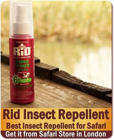 Best Insect Repellent for your Safari